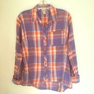 Mossimo supply co. Button up flannel